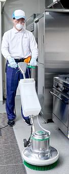 プロのお掃除サービス
